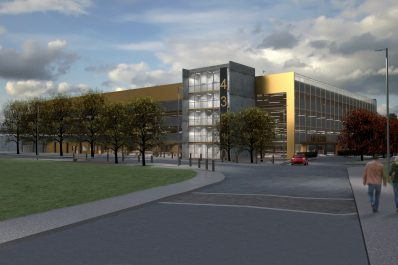 Construction begins on Hospital Park & Ride in Southampton