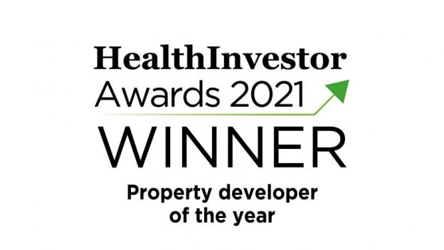 Prime wins Developer of the Year at 2021 HealthInvestor Awards image