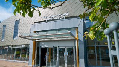University Hospital Southampton Main Entrance and Retail Area