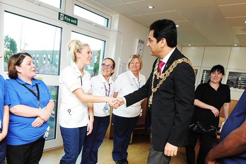 Lord Mayor formally opens dementia-friendly unit
