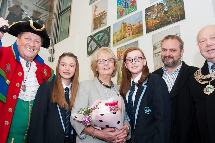 Budding Biddulph artists' work goes on show at health centre