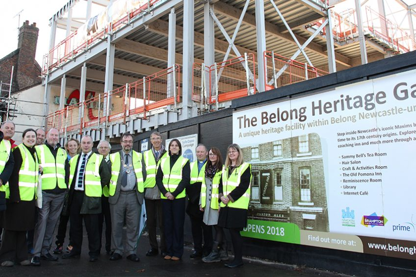 Local MP and Heritage Lottery Fund visit Belong Heritage Gallery site