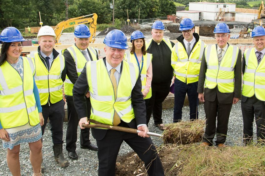 Sod cutting marks new beginning for healthcare in Westport