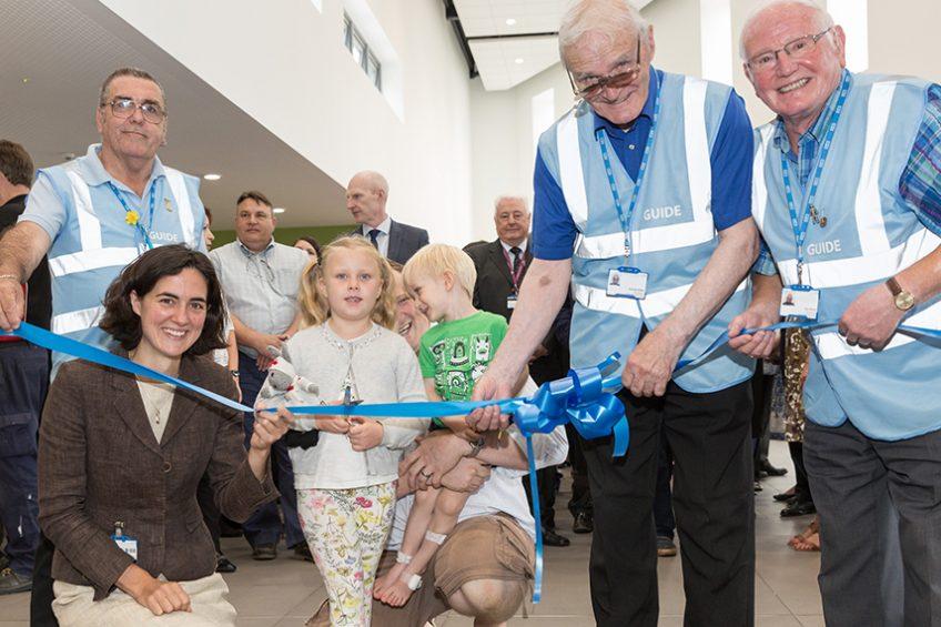 New main entrance officially opened at University Hospital Southampton