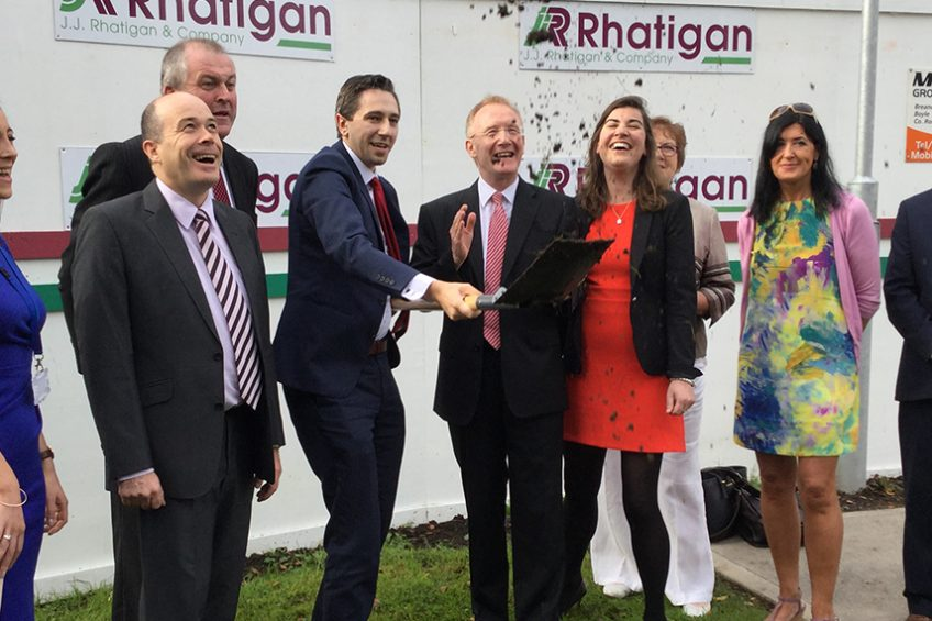 Minister of Health turns sod on Boyle Primary Care Centre