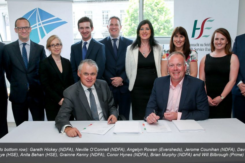 Financial close reached for landmark primary care programme in Ireland