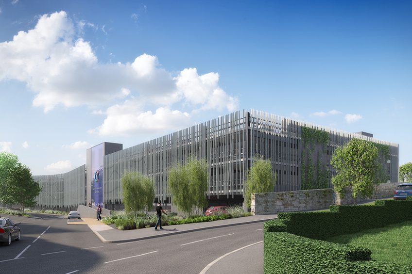 Financial close secured for hospital car park and link road project