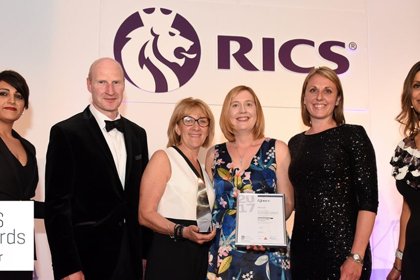 Prime celebrates RICS award success for Birmingham Dental Hospital