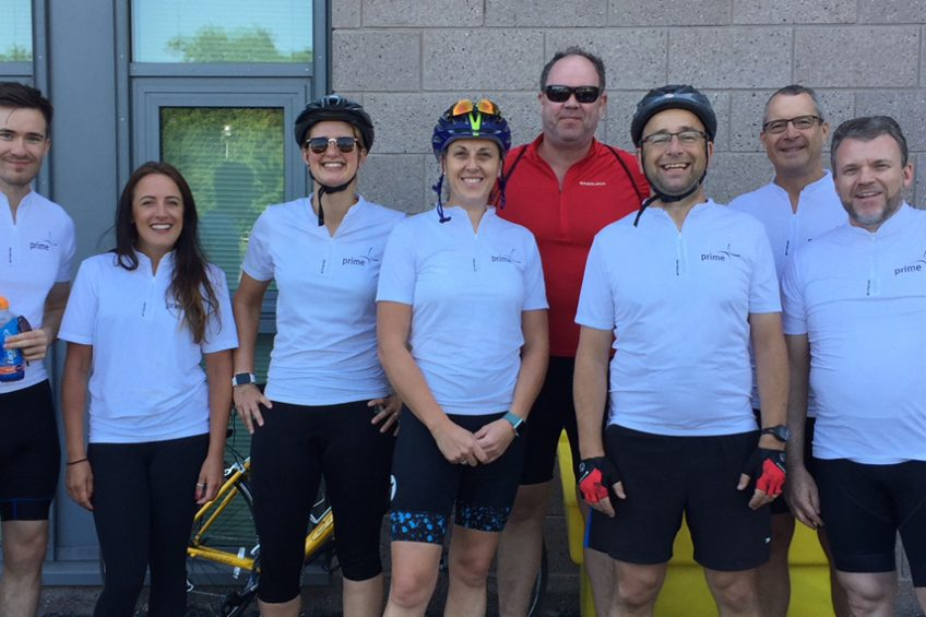 Prime rides out in support of St Richards Hospice