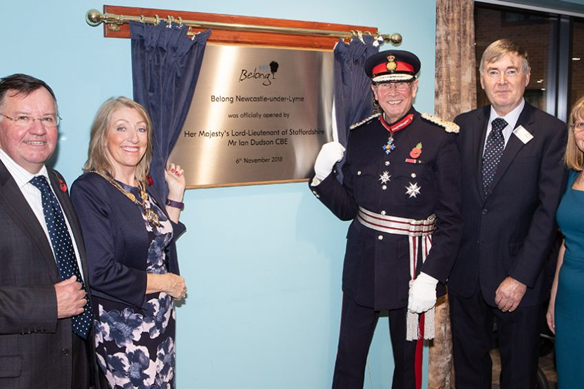 Belong Care Village in Newcastle-under-Lyme is officially opened