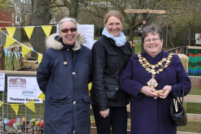 Mayor Opens New Outdoor Play and Learning Space Funded by Prime Foundation