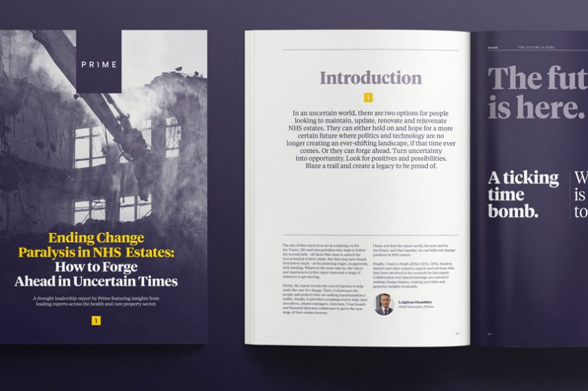 Ending Change Paralysis in NHS Estates – new report sets out how to forge ahead in uncertain times