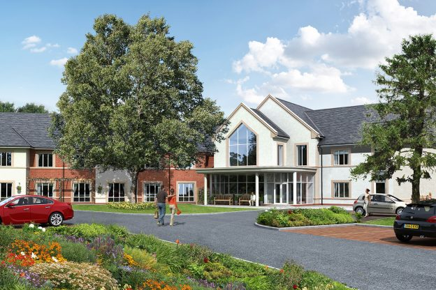 Prime Dormy Care Communities Hereford Care Home project