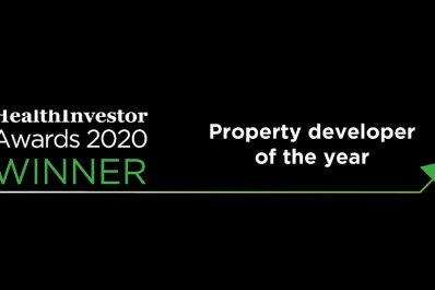 Prime wins Developer of the Year at the HealthInvestor Awards 2020