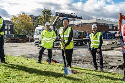 Construction starts on two new Multi-Storey Car Parks on Birmingham Hospital sites