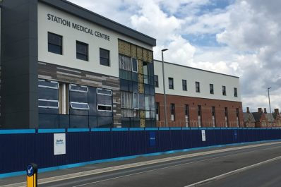 Construction on new Station Medical Centre enters final stage
