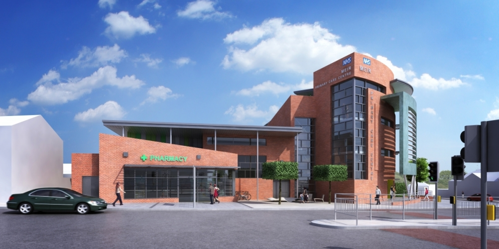 Building work to begin on state-of-the-art Meir Primary Care Centre