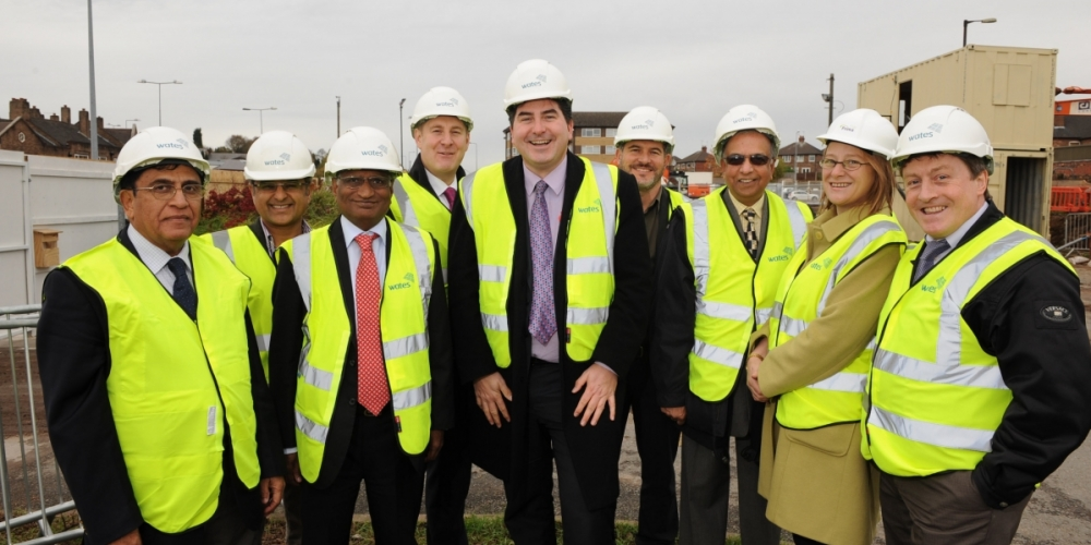 Official turf cutting ceremony marks start of work on site at Meir