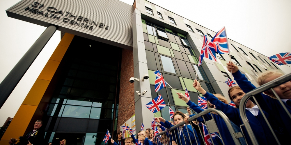 Royal visit marks opening of uniquely funded project