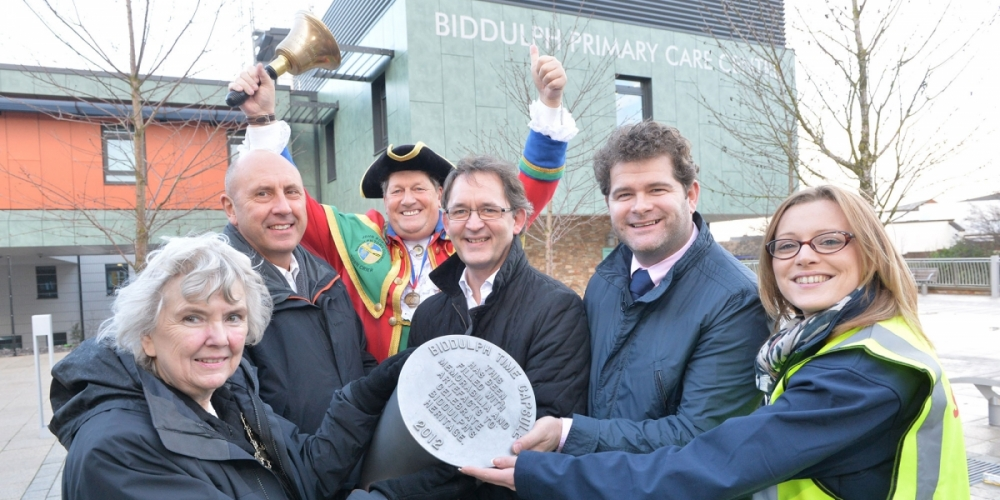 Time capsule to commemorate new health centre