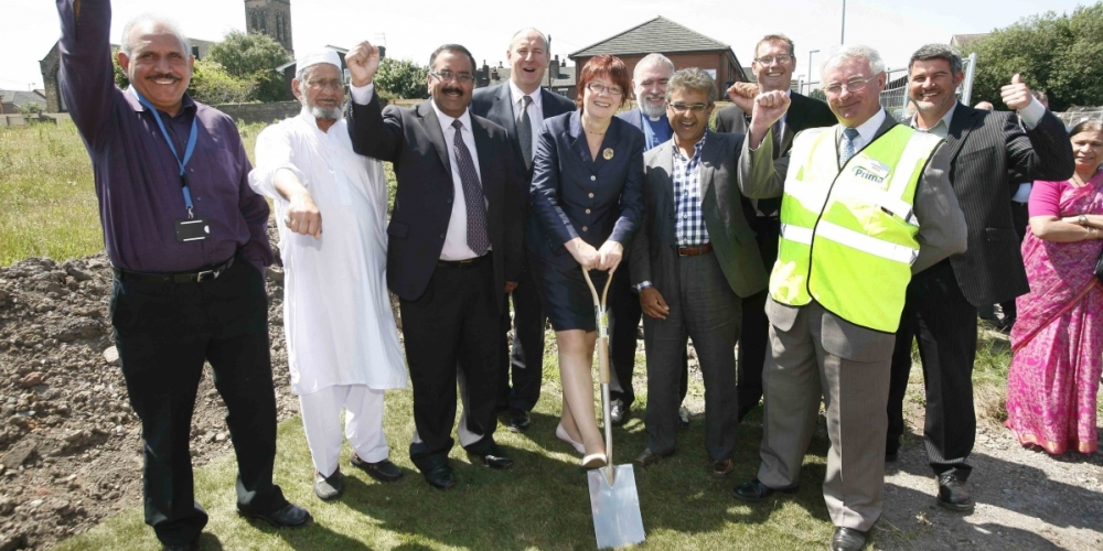 Official turf cutting ceremony marks start of work on site at Cobridge